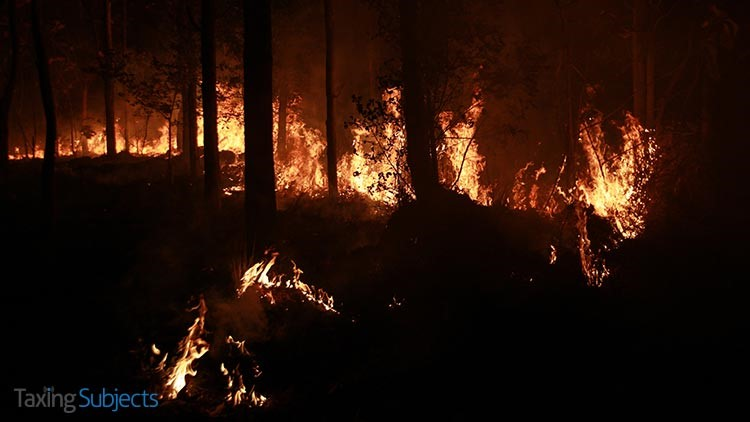 New Extension Deadline for Oregon Wildfire Victims